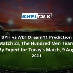 BPH-vs-WEF-Dream11-Prediction