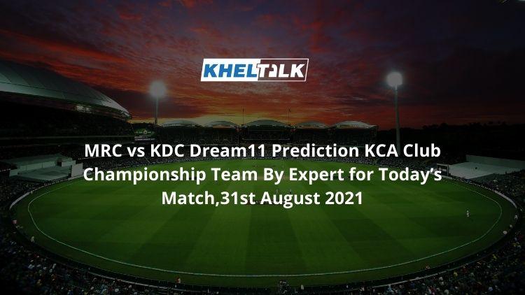 MRC-vs-KDC-Dream11-Prediction
