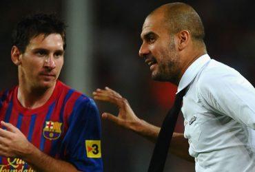 Lionel Messi & Pep Guardiola