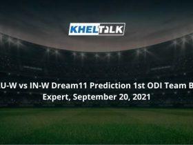 AU-W-vs-IN-W-Dream11-Prediction