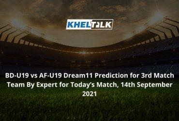 BD-U19-vs-AF-U19-Dream11-Prediction
