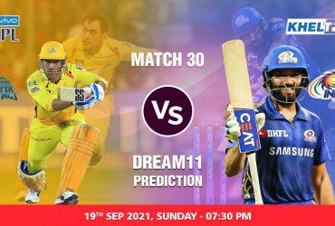CSK vs MI IPL 2021